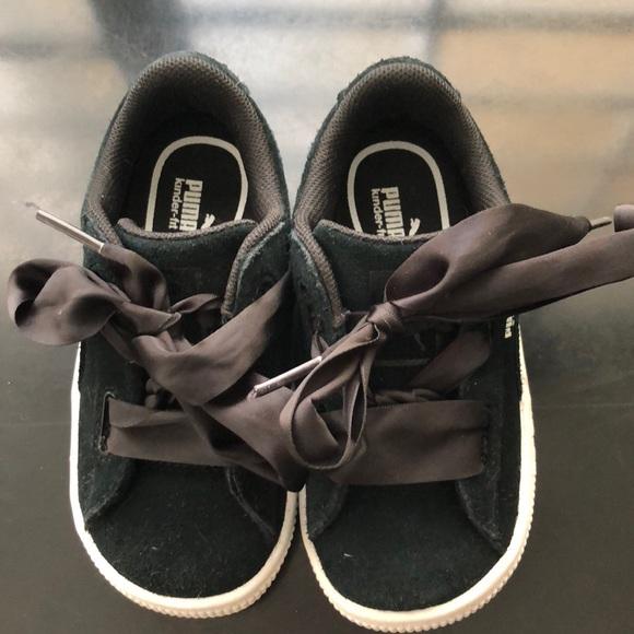Puma Rihanna Suede Heart Kids Sneaker